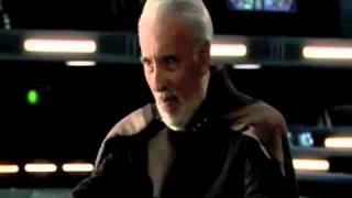 Count Dooku Death (No Fuss Version)