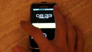 Samsung Galaxy S1 Custom interface