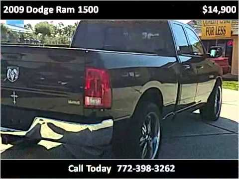 Great 2009 Dodge Ram 1500 Used Cars Port St. Lucie FL