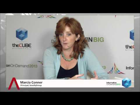 Marcia Conner - IBM Information on Demand 2013 - theCUBE
