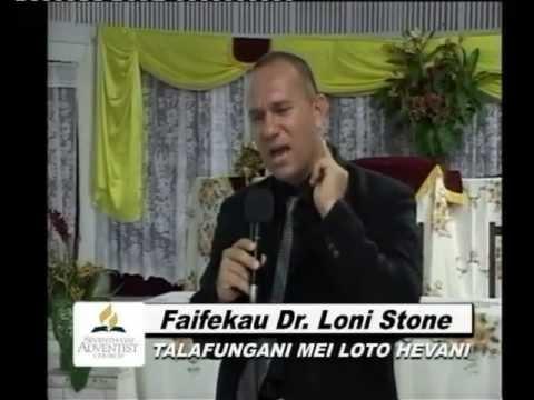 Dr Loni Stone - Koe Ha Nai Kuo Hu'utu'a Pehe Ai 'Ae Faingata'a 'I Mamani