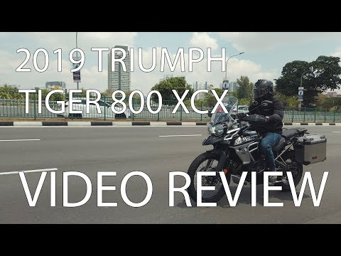 2019 Triumph Tiger 800 XCX // VIDEO REVIEW