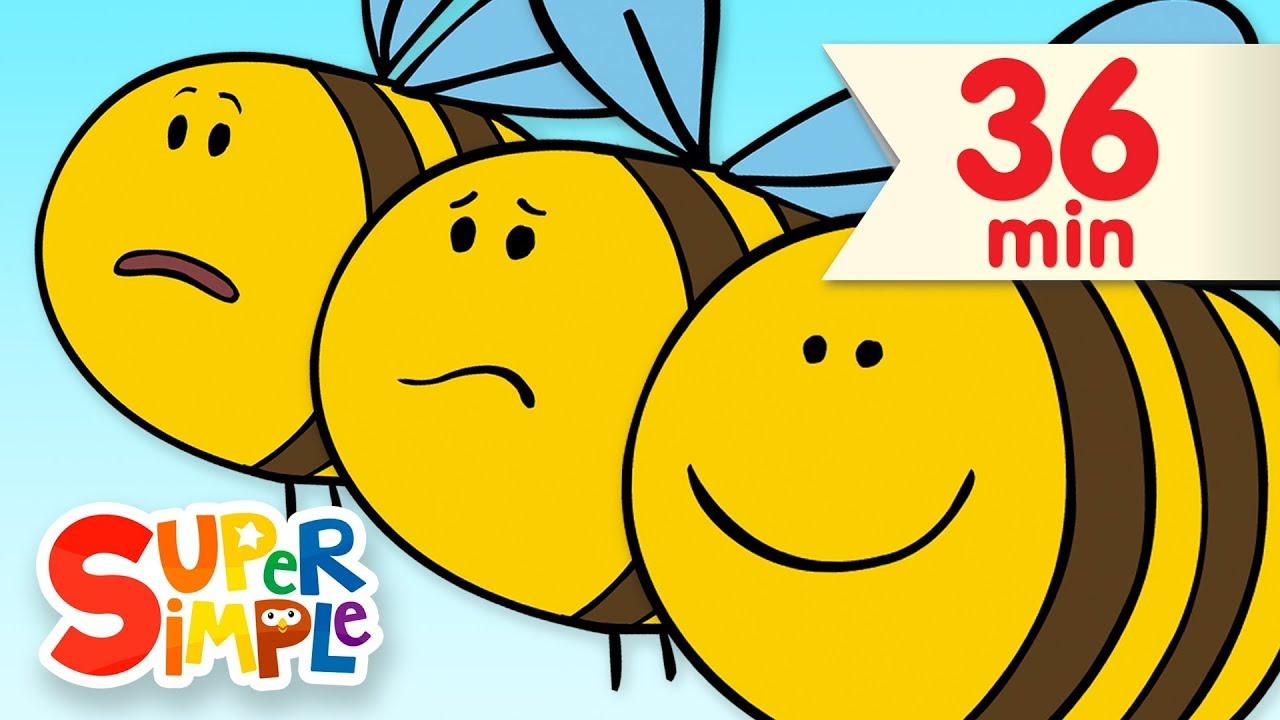 Here Is The Beehive    + More Kids Songs   Super Simple Songs