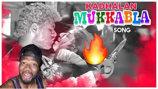 Download Mukkala Mukkabala Video Song | Kadhalan Movie Songs | Prabhudeva | Nagma | AR Rahman (REACTION)
