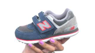 New Balance Kids 574 Outside In (Little Kid/Big Kid) SKU:8598055
