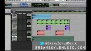 ProTools for Beginners - How to Build a Beat:  Part 1