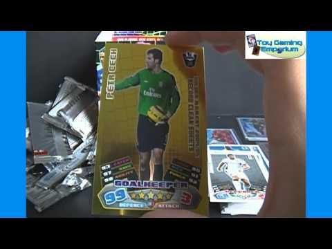 Opening a Box of Topps Match Attax 2011 / 2012 Trading Card Game Packs (Part 3)