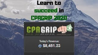 How to have extra income online effortlessly   CPAGRIP 2020