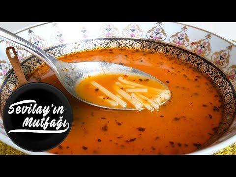 Erişteli Tarhana Çorbası Nasıl Yapılır? | Erişteli Tarhana Çorbası Tarifi