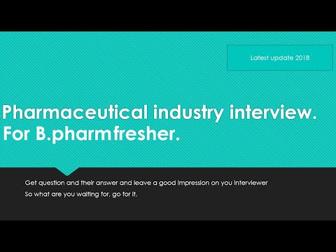 interview question asked in pharmaceutical industries| questions & their answers |useful pharma tips