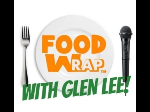 "Food Wrap  ""Wok Mon"" with Actor & Inventor ""Glen Lee!"""