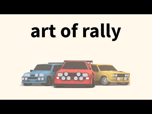 art of rally Announce Trailer