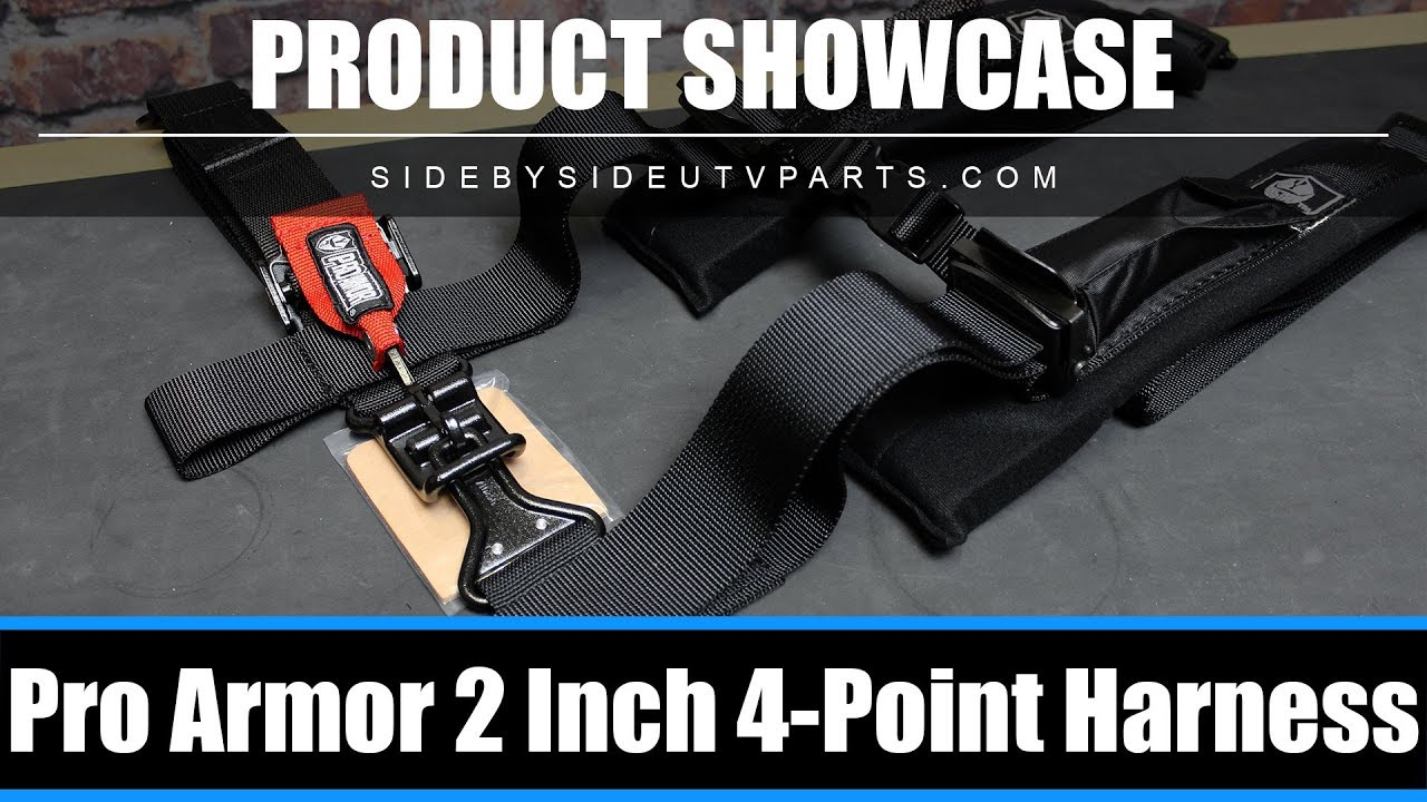 Side by Side - Product Showcase - Pro Armor 2 Inch 4-point Harness