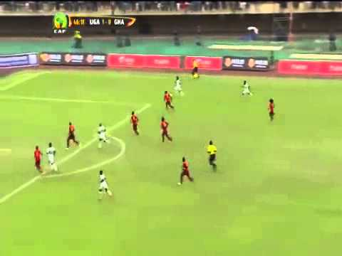 Uganda 1-0 Ghana  African Cup of Nations Qualifier Match Highlights 15th November 2014