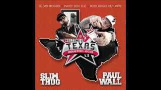 SLIM THUG & PAUL WALL feat. D-BOSS - All Gold Everything G-Mix