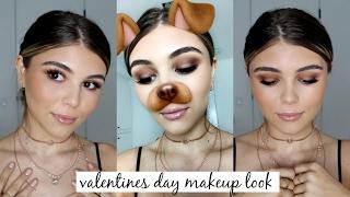 Valentines Day Makeup Look (easy) l Olivia Jade