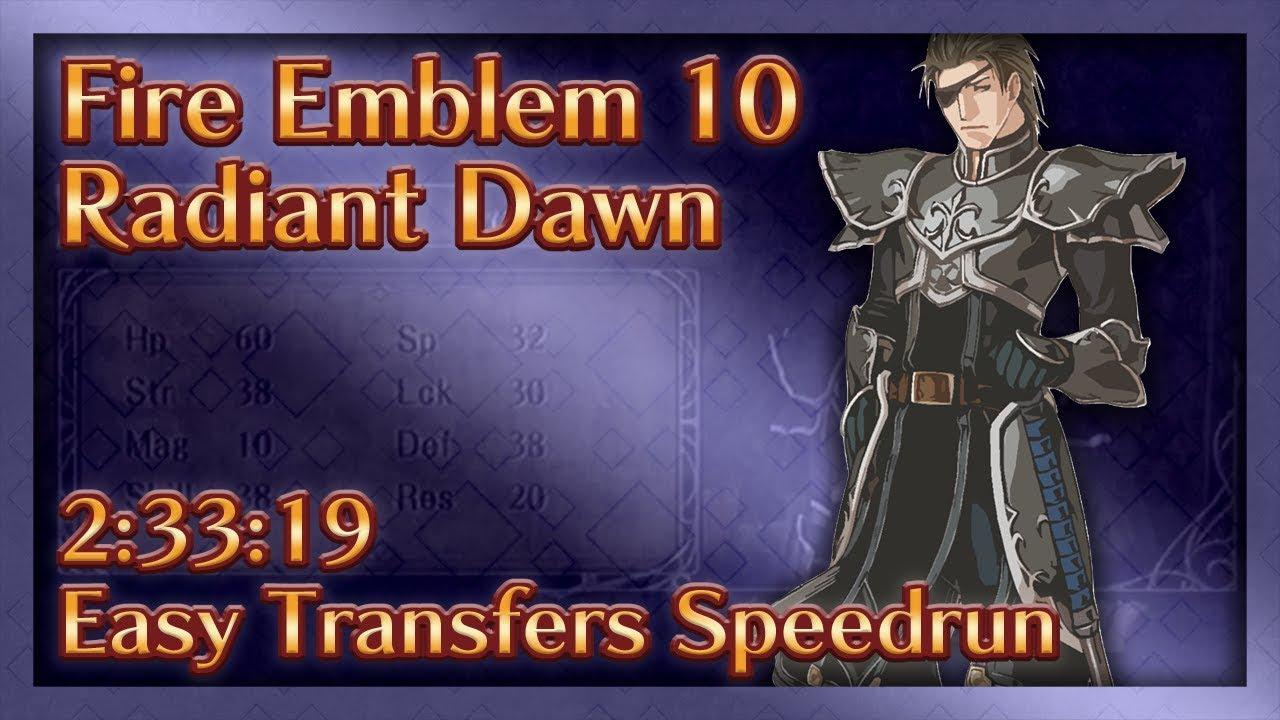 radiant dawn transfer