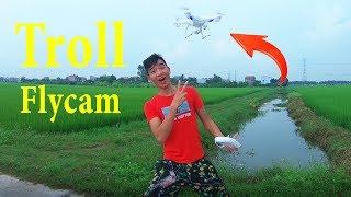 PHD | Lần Đầu Nghịch Flycam | Prank