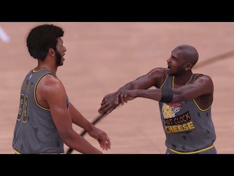 NBA 2K16 PS4 My Team - MJ Contested Shot Clock Cheese!