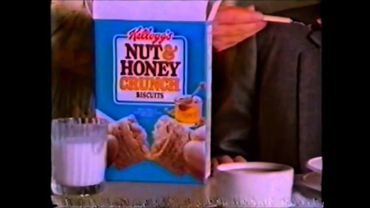 1988 Kelloggs Nut N Honey Crunch Cereal Commercial Youtube