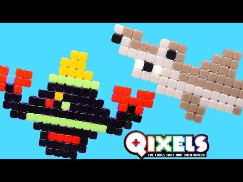 Qixels Fuse Blaster - Pixel Cube Toy Character Creator New DCTC Toy Review 2016