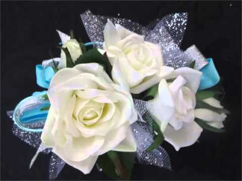 Collection Of Corsage Light Blue Picture Ideas For Wedding Romance