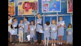 """Выставка детской живописи и графики """"Тигры - тоже люди"""" 12.09.2010 Владивосток WWF"""