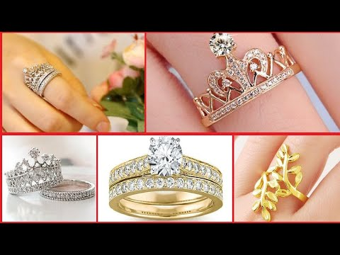 Gold ring design for women 2017 2018