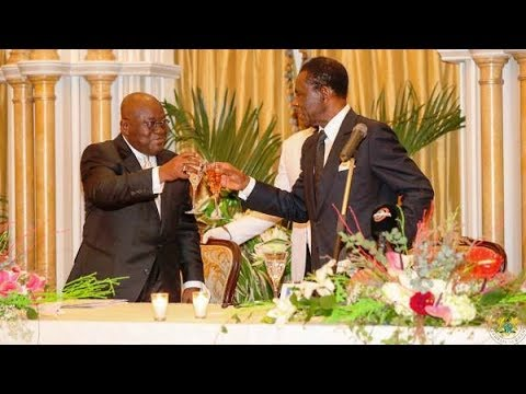 Equatorial Guinea: State Banquet held in honour of Prez Akufo-Addo