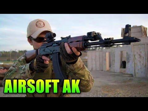 Airsoft G&G GKM - AK-47 Sniper FTW!