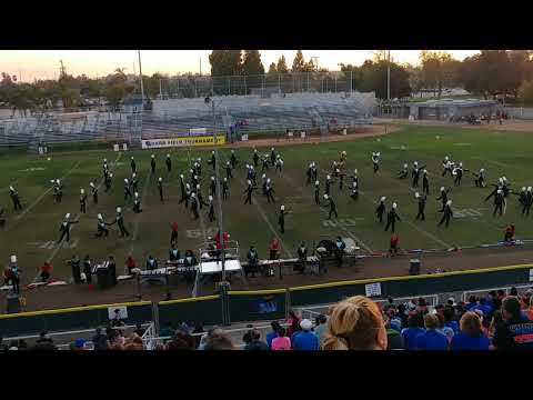 Canyon Springs High School Cougar Canyon Regiment: City of Lights 2017