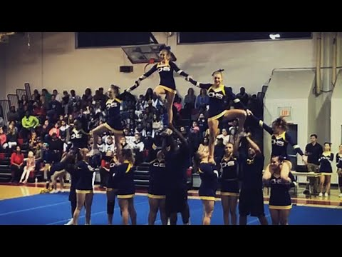 Chincoteague High School Cheer Competition 2017-2018