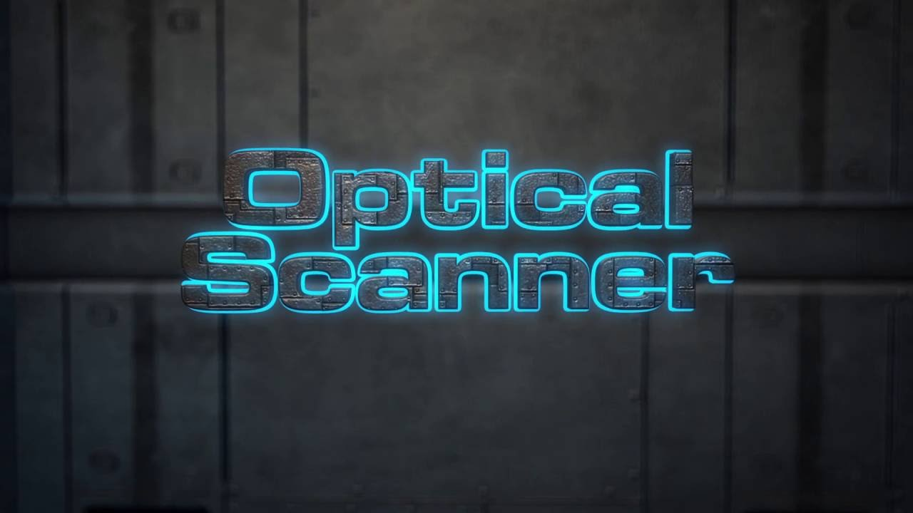 After Effects Template: Optical Scanner - Laser Scanning 3D Text ...