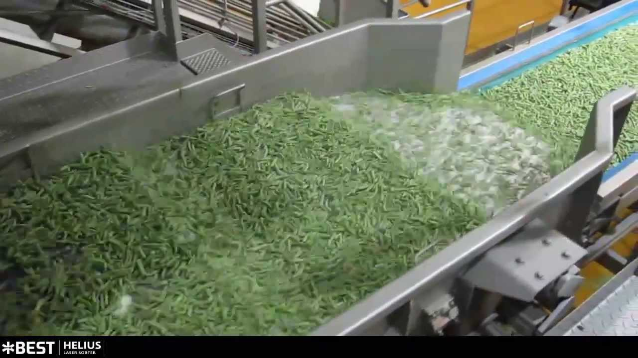 Cut green bean sorter Helius TOMRA Sorting