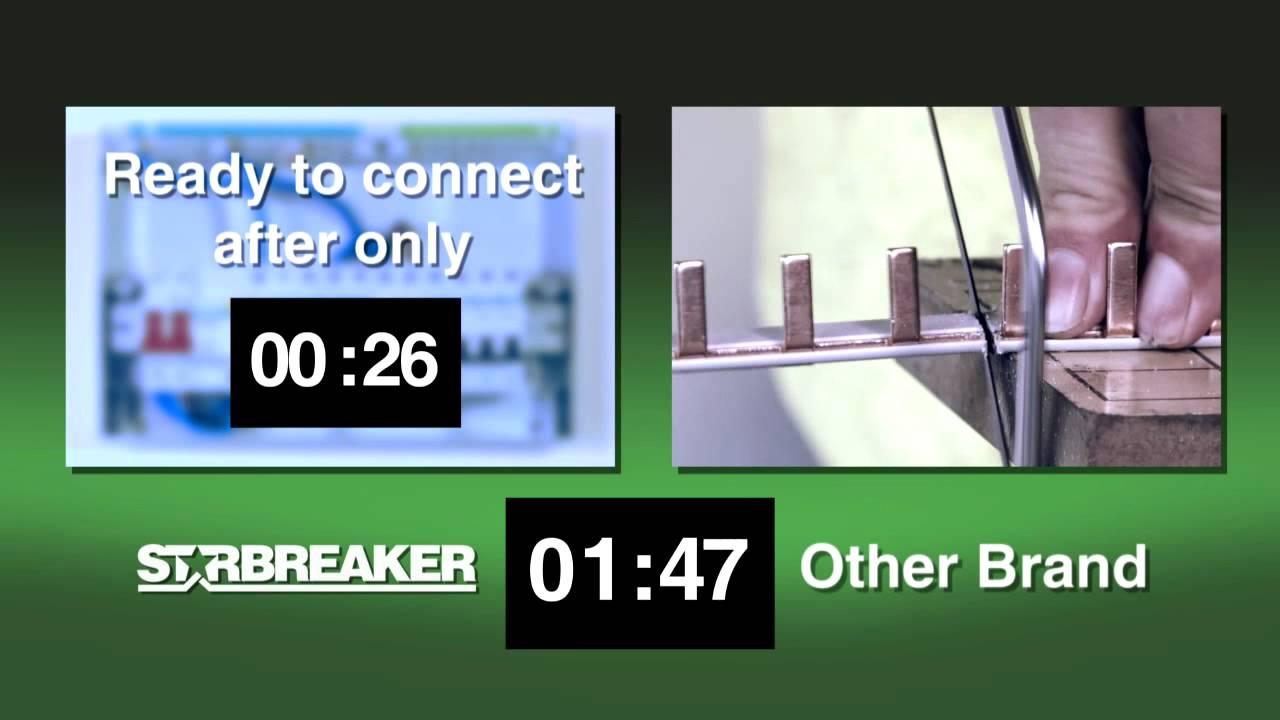maxresdefault crabtree starbreaker installatation from newey & eyre youtube crabtree starbreaker fuse box at reclaimingppi.co