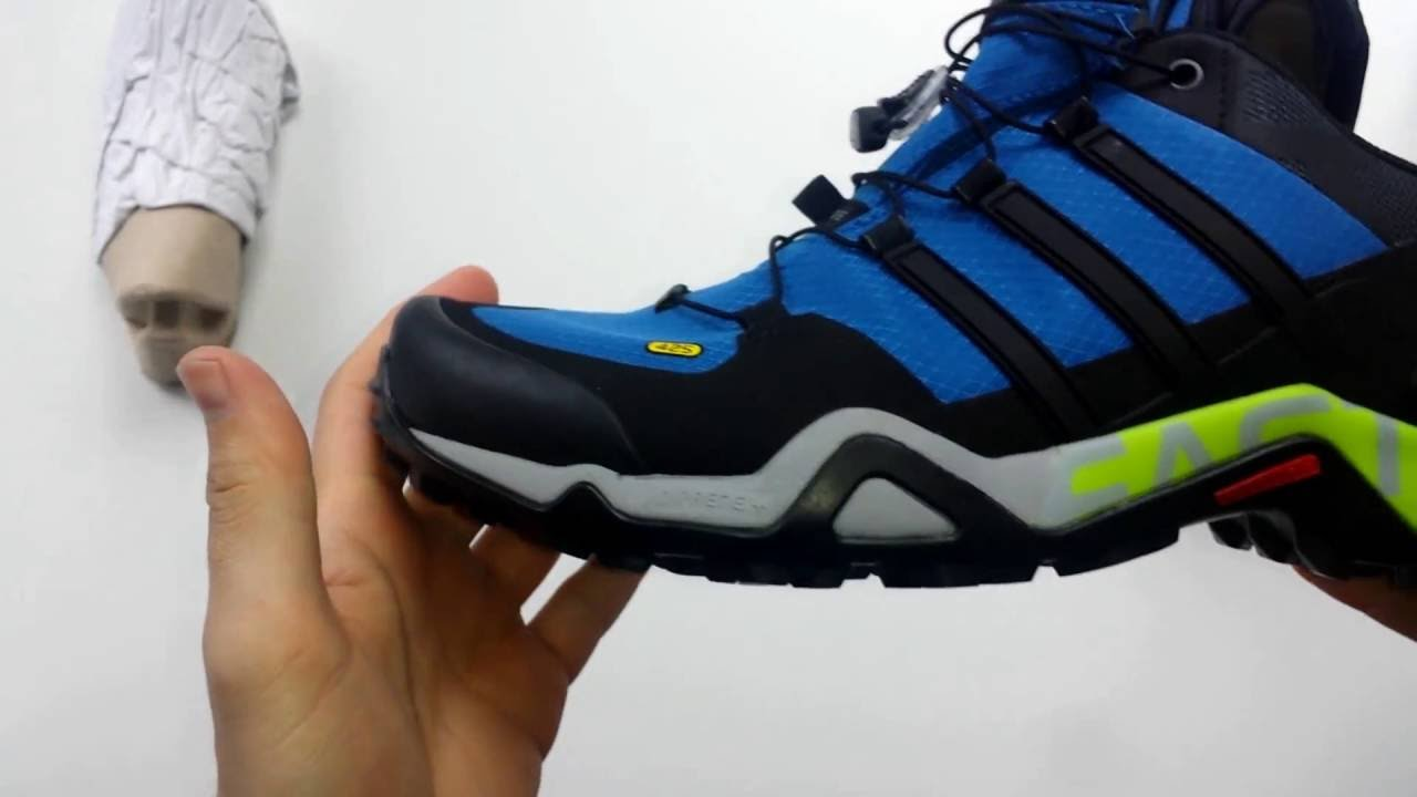 b79d155d5ccd8 Adidas Terrex Fast R GTX Outdoor Shoes Product ZOOM - YouTube