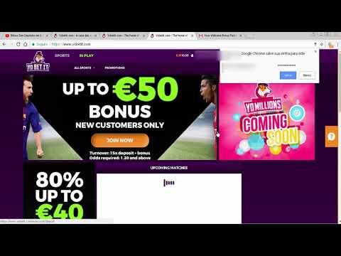 €10 Grátis na Bookmaker YobetIt - Como Receber o Bônus?