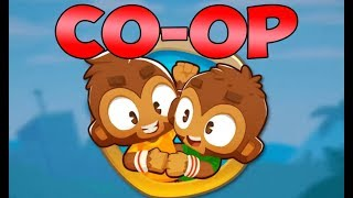 CO-OP MODE IS HAPPENING! Bloons Tower Defense 6