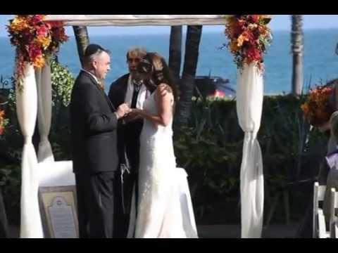 Rabbi Michael Mayersohn Officiates Jewish Amp Interfaith Wedding Ceremony In Santa Barbara
