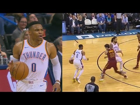 Russell Westbrook Murders Entire Cavs & Ties Jason Kidd For Third Most Triple-Doubles Of All Time!