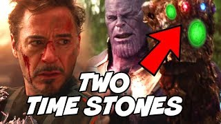 Doctor Strange Complete Plan Explained AND 2 Time Stones in Avengers Infinity War