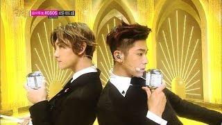 Repeat youtube video [Comeback Stage] TVXQ - Something, 동방신기 - 썸씽, Music core 20140104