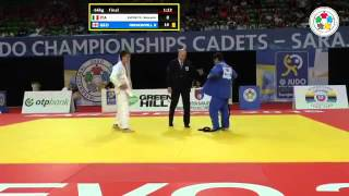 Giovanni Esposito vs Bagrat Niniashvili Word Championship Cadets 2015