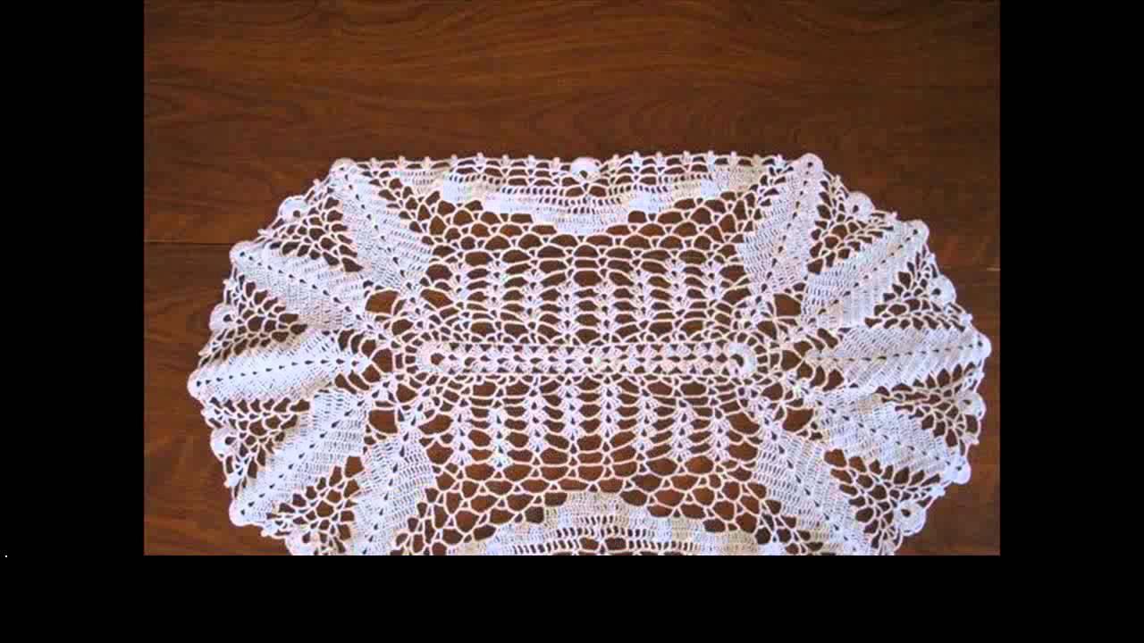 Crochet Table Runner Pattern Youtube