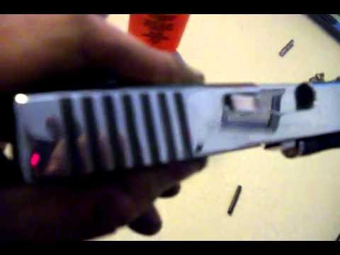 Glock Polishing Save 19 9mm HandgunGlock PolishingGlock Barrel Ryan Burick