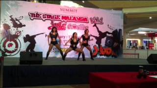 Dionysus Crew- The Stage Malaysia Dance Competition @ Summit_010613