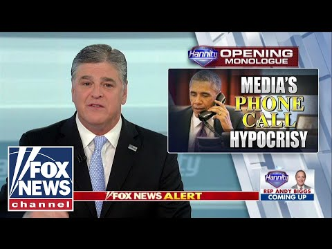 Hannity: why didn't media blast Obama for congratulating Putin?