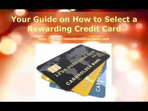 Best Credit Card Rewards - Your Guide on How to Select a Rewarding Credit Card