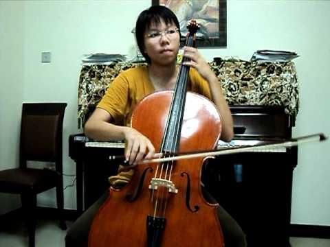 ABRSM Cello Exam 2010-15 Grade 7-C4, The Train Whistle