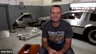 John Dore shares the History of Lapple – producer of the DeLorean Stainless Steel panels